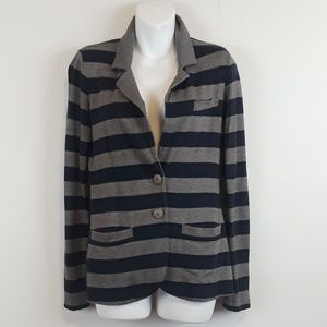 Tart striped blazer size xs.